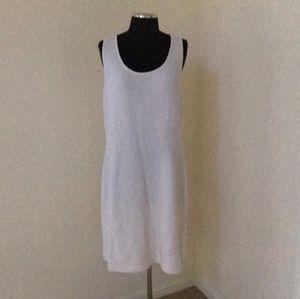 St. John Collection size 12 off white knit dress